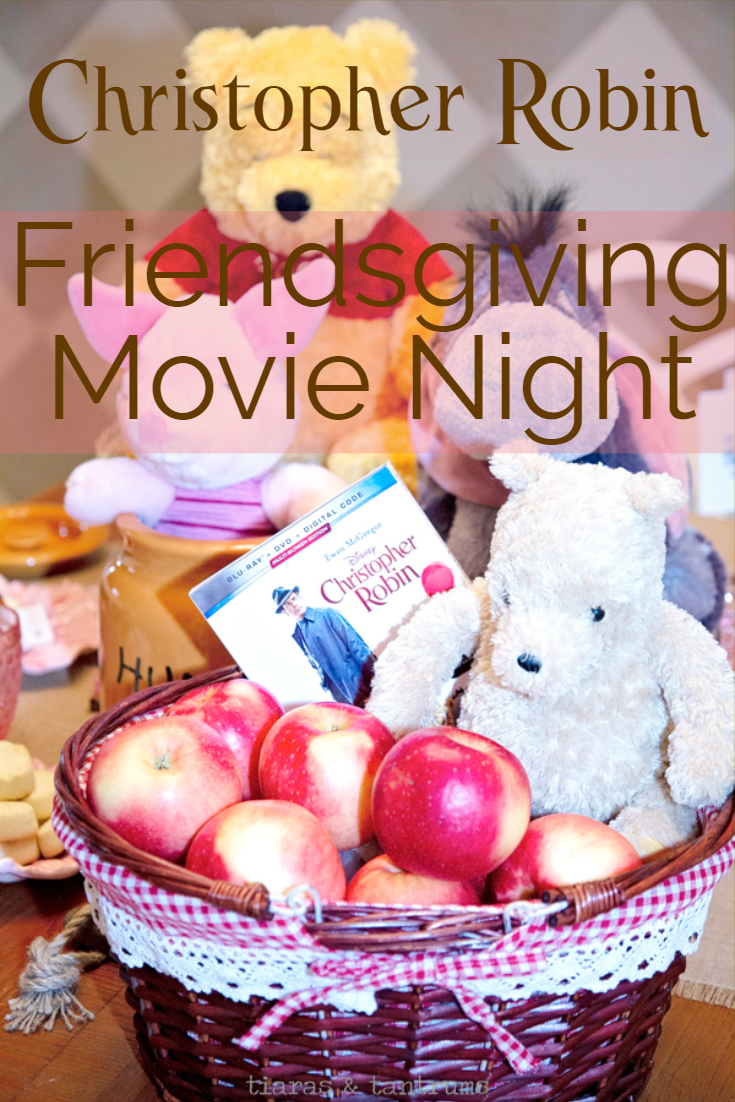 Nut Recipes for Friendsgiving Movie Night with Christopher Robin