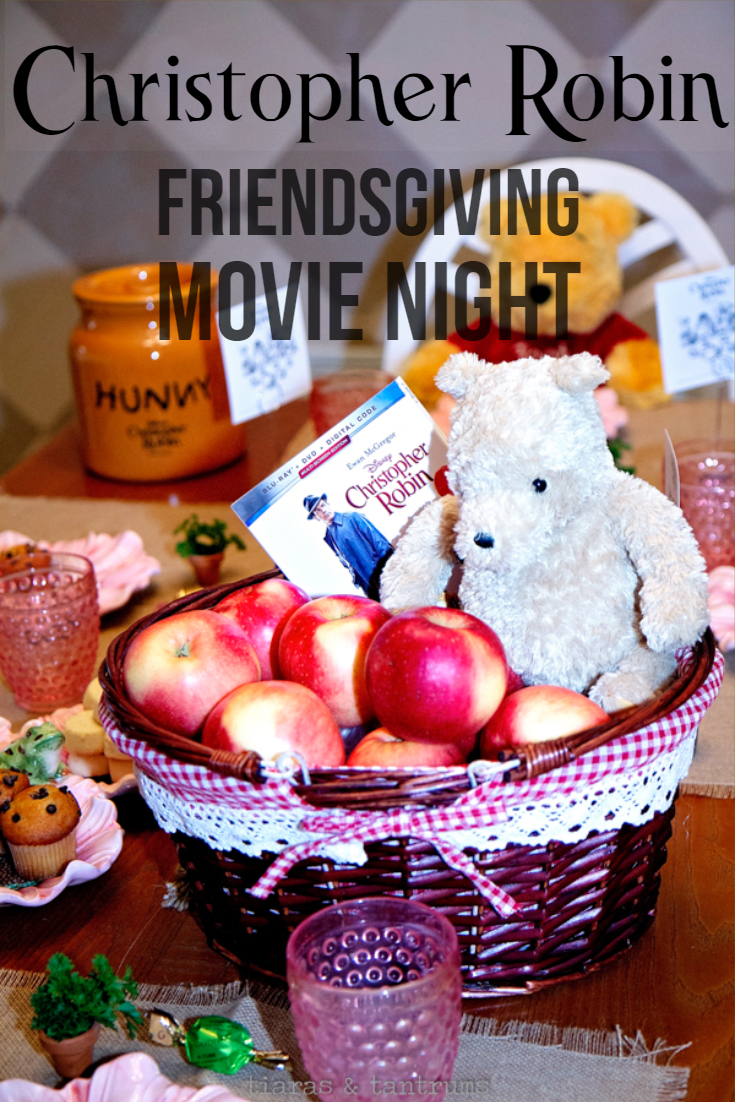 Friendsgiving Movie Night with Christopher Robin