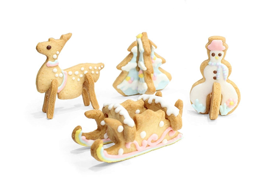 Amazing Gift Ideas Under $50 Christmas Scenario Cookie Cutter Set