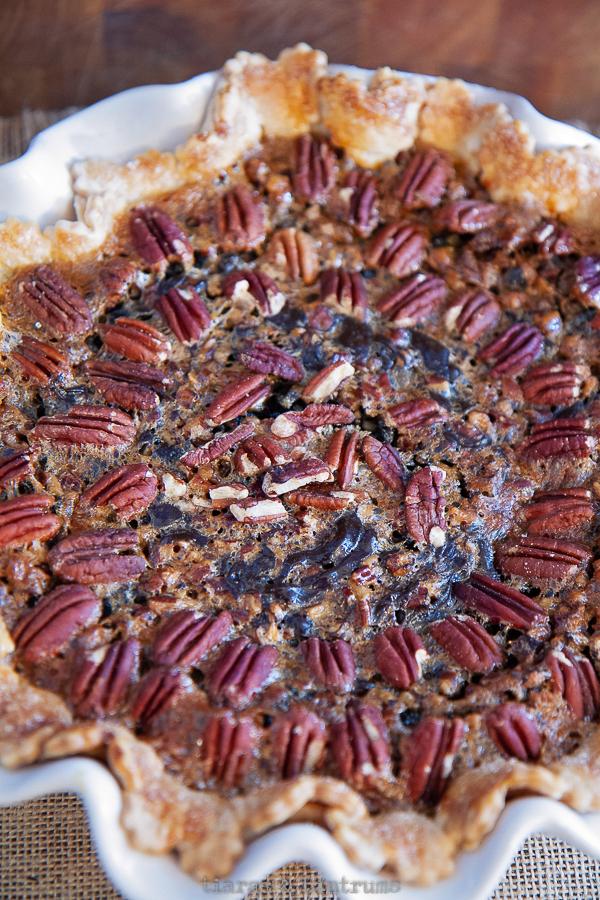 The Best Chocolate Pecan Pie Ever