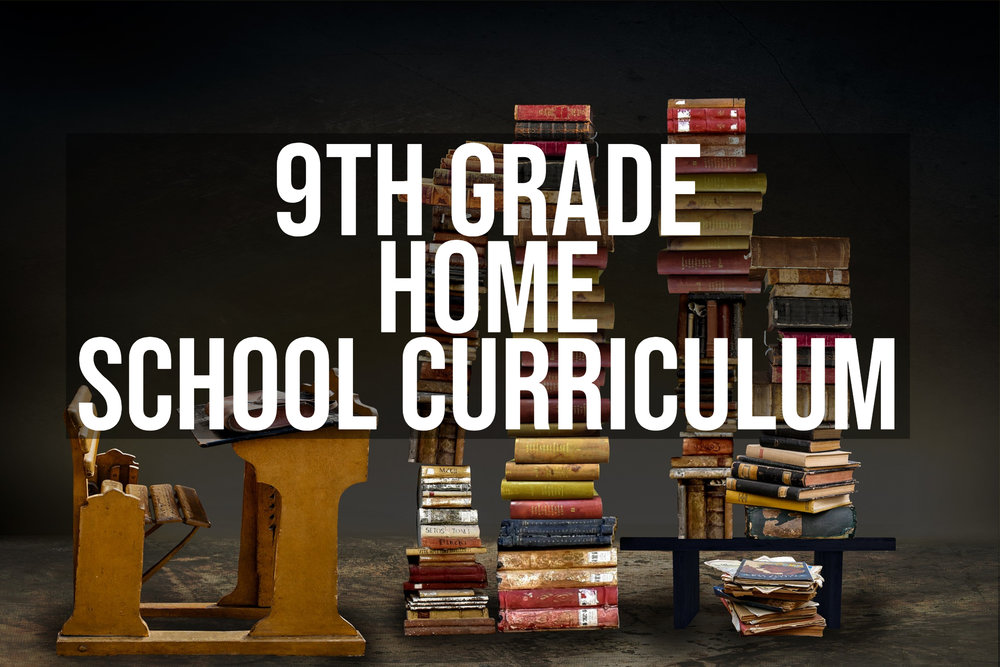9th Grade Homeschool Curriculum #homeschool #grade9curriculum #homeeducating #homeschooling #9thgradehomeschooling