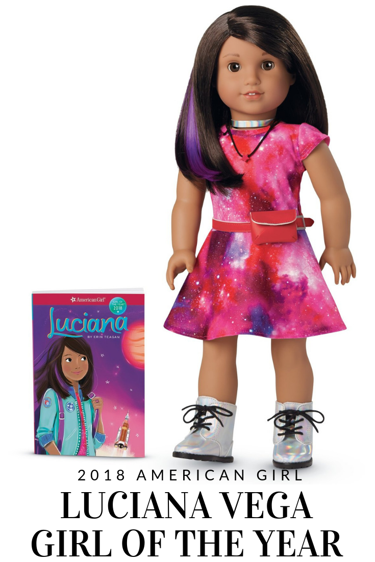 American Girl's 2018 Girl of the Year Is Luciana Vega #AmericanGirl #AmericanGirlDoll #GOTY2018 #GOTY #LucianaVega