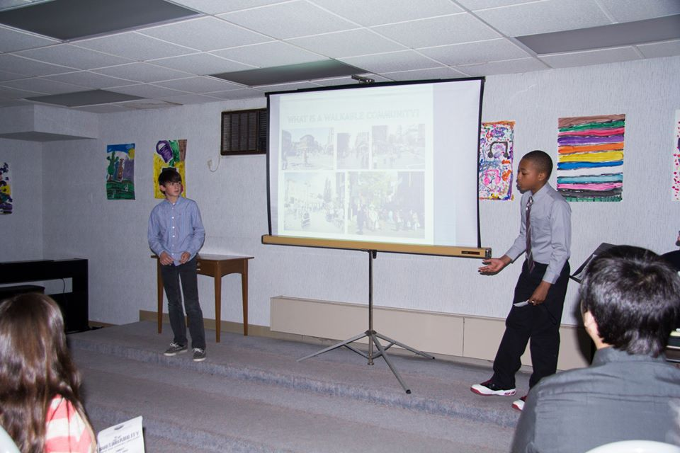 Students at Good Shepherd gave 23 presentations.