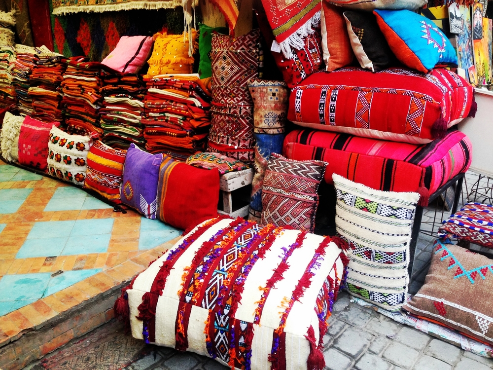 Bursts of colour within the Souqs. Bohemian Paradise