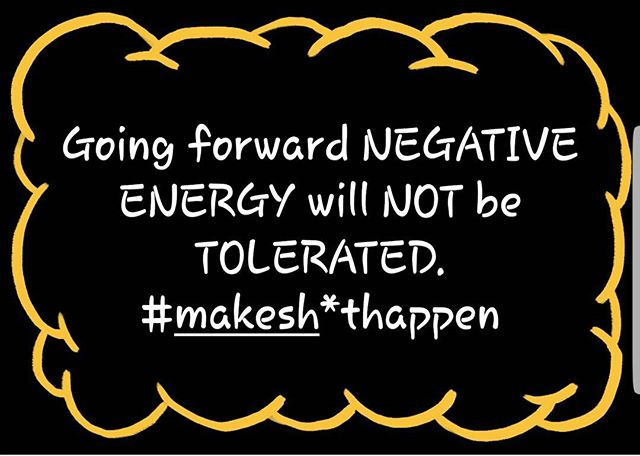 It's time to promote positive energy and growth. Share this if you agree.  #makeshithappen #stayfocused #positivemotivation #beinspired