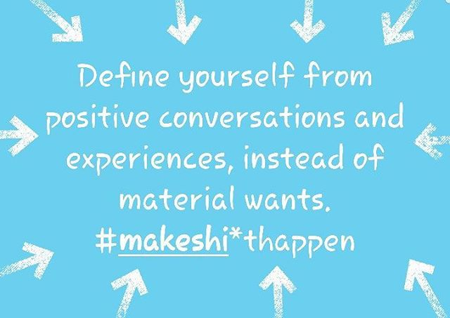 The #makesh*thappen thought of the day.  #makeshithappen #positivemotivation #personalgrowth #stayfocused #enjoylife