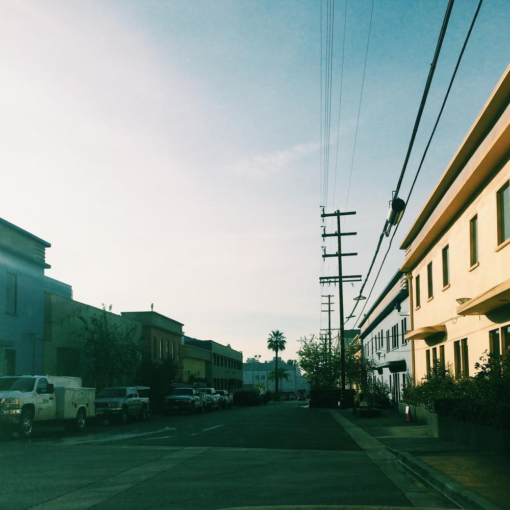 sunset-gower studios back lot