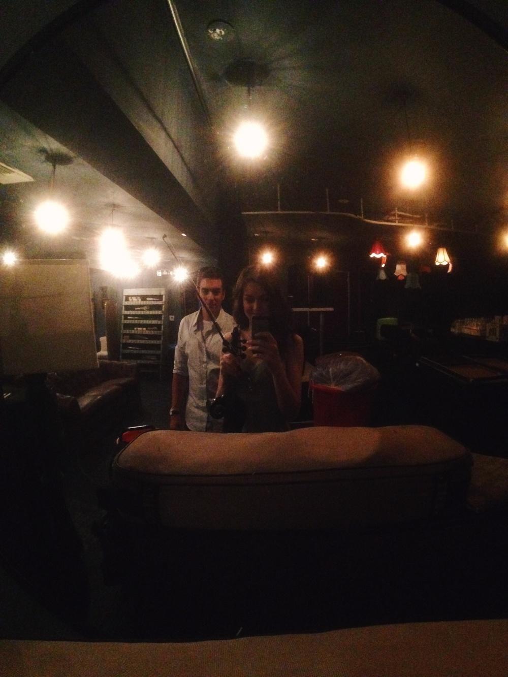 backstage with joe