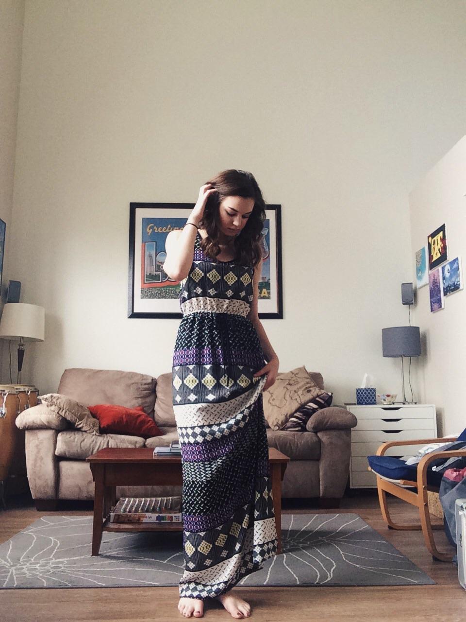 papermoon- ayden maxi dress