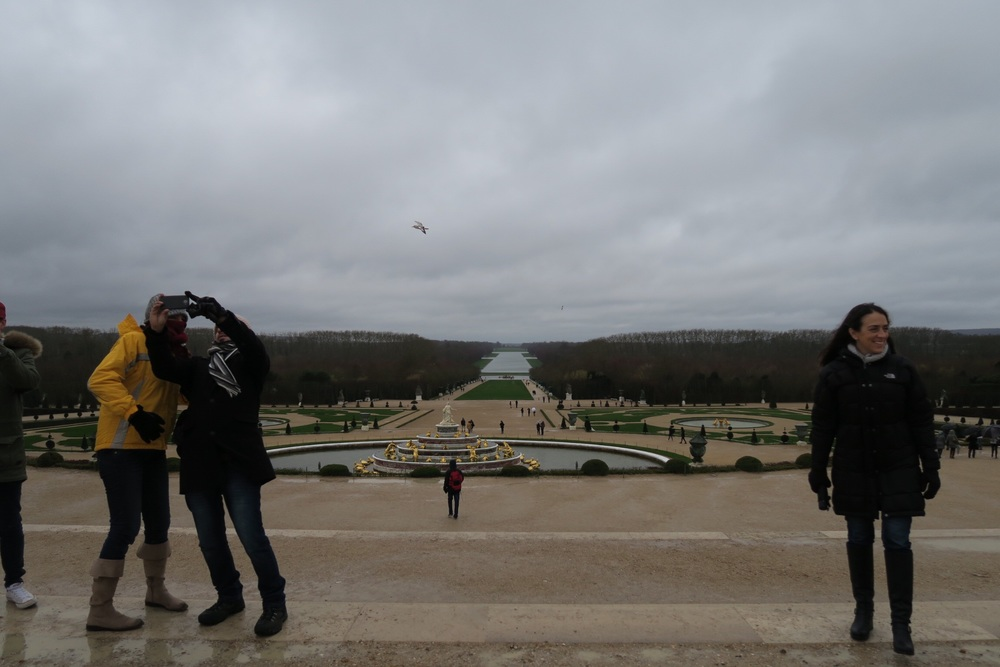 ^ winter in versailles. and my adorable mom-in-love.