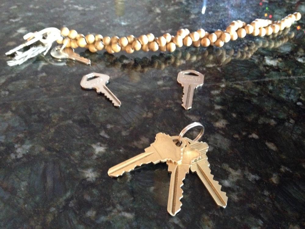 The keys!