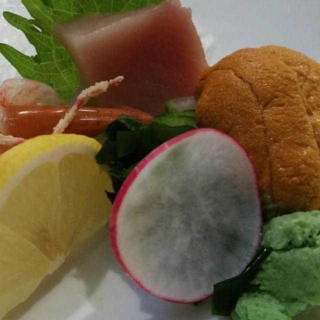 a nigiri plate #foodporn #sushi #iprive