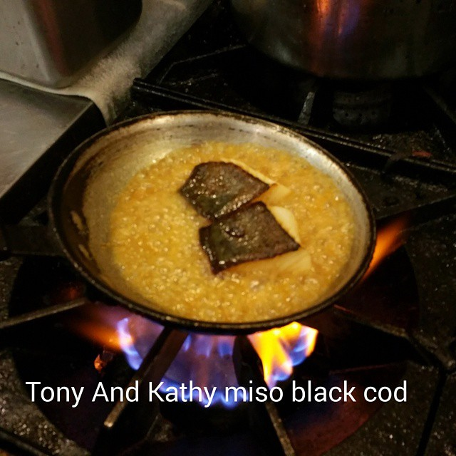 Tony and Kathy miso black cod #foodporn  #yum #chefsofinstagram