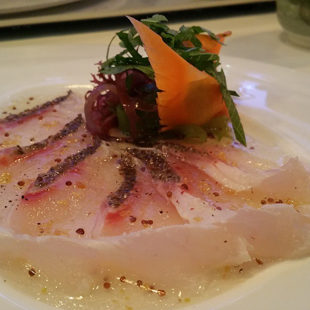 red snapper sashimi #chefsofinstagram  #iprive