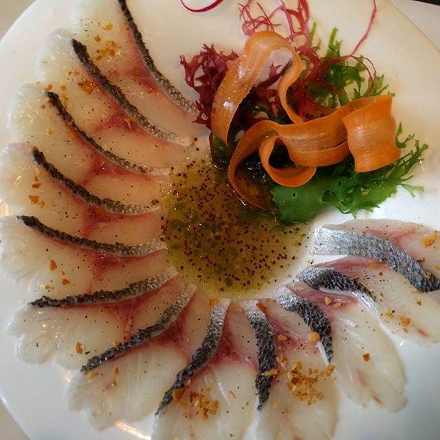 Black Sea bream at I Privé #iprive #foodie #sushi #sanfrancisco