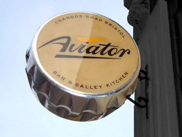 Aviator Bar & Galley Kitchen