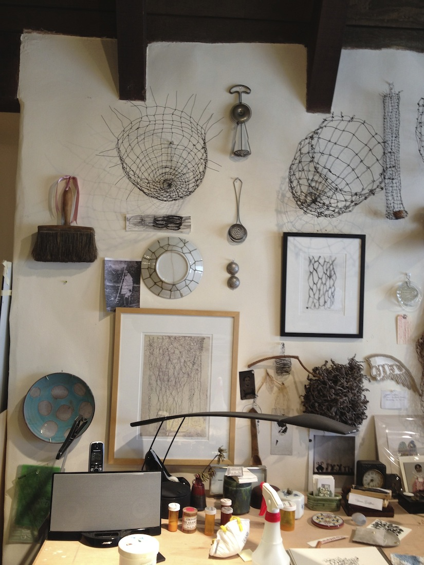 Artist's Studio Berkeley, CA .JPG