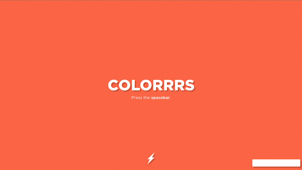 Random colour generator