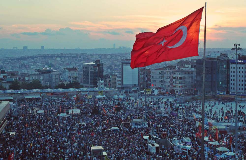 Gezi Park protests in Istanbul by Jenna