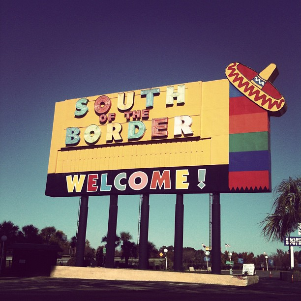 South of the Border!! (Taken with instagram)