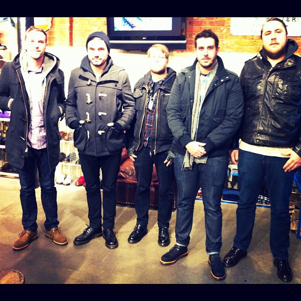 Doc Martens in London hooked us up today.  Thank you so much…