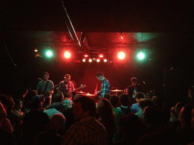 our show at Mohawk Place in Buffalo…