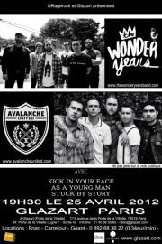 "Stoked to play Paris with The Wonder Years in April!!  Check our ""Tour Dates"" section for all the details: http://bit.ly/sw5cxM"