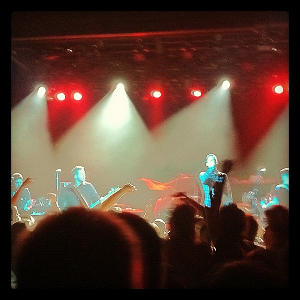 Irving Plaza last night… katerussellftw: I Am The Avalanche (@iatanyc) - 11/16/11 (Taken with Instagram at Irving Plaza)