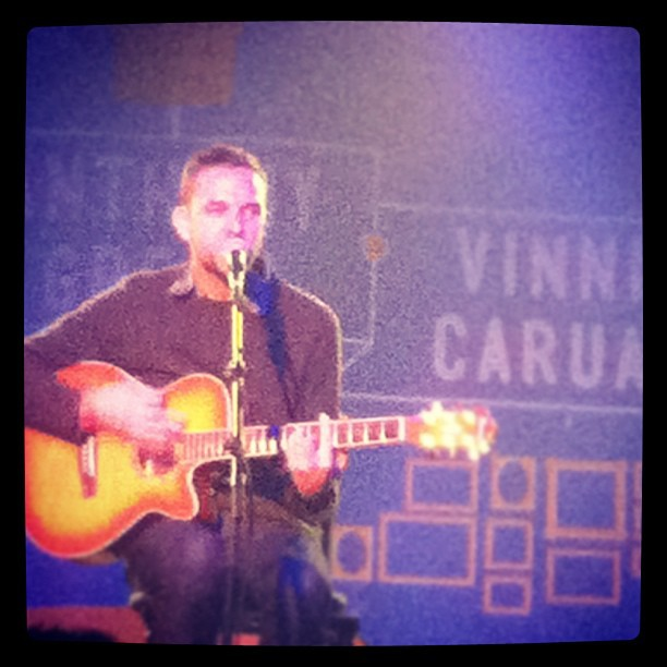 Vinnie playing House of Vans in Brooklyn earlier tonight vinlikesarizonaicedtea: Vinnie Caruana (Taken with Instagram at House of Vans)