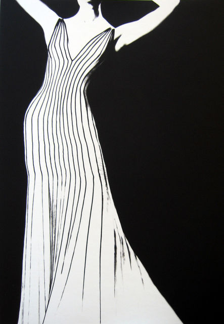 Dress by Thierry Mulger, 1998, 24 x 20, Ediiton of 25.jpg