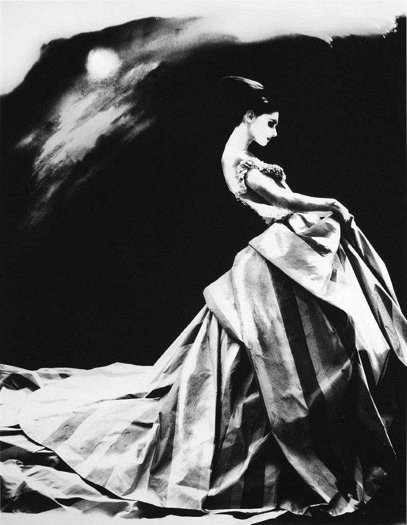 Night Bloom. Anneliese Seubert in Givenchy Haute Couture by John Galliano, Paris. The New York Times Magazine, 1996 .JPG