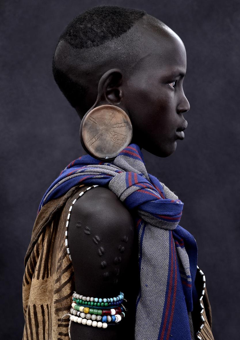 mario marino // surma girl 2011 ethiopia