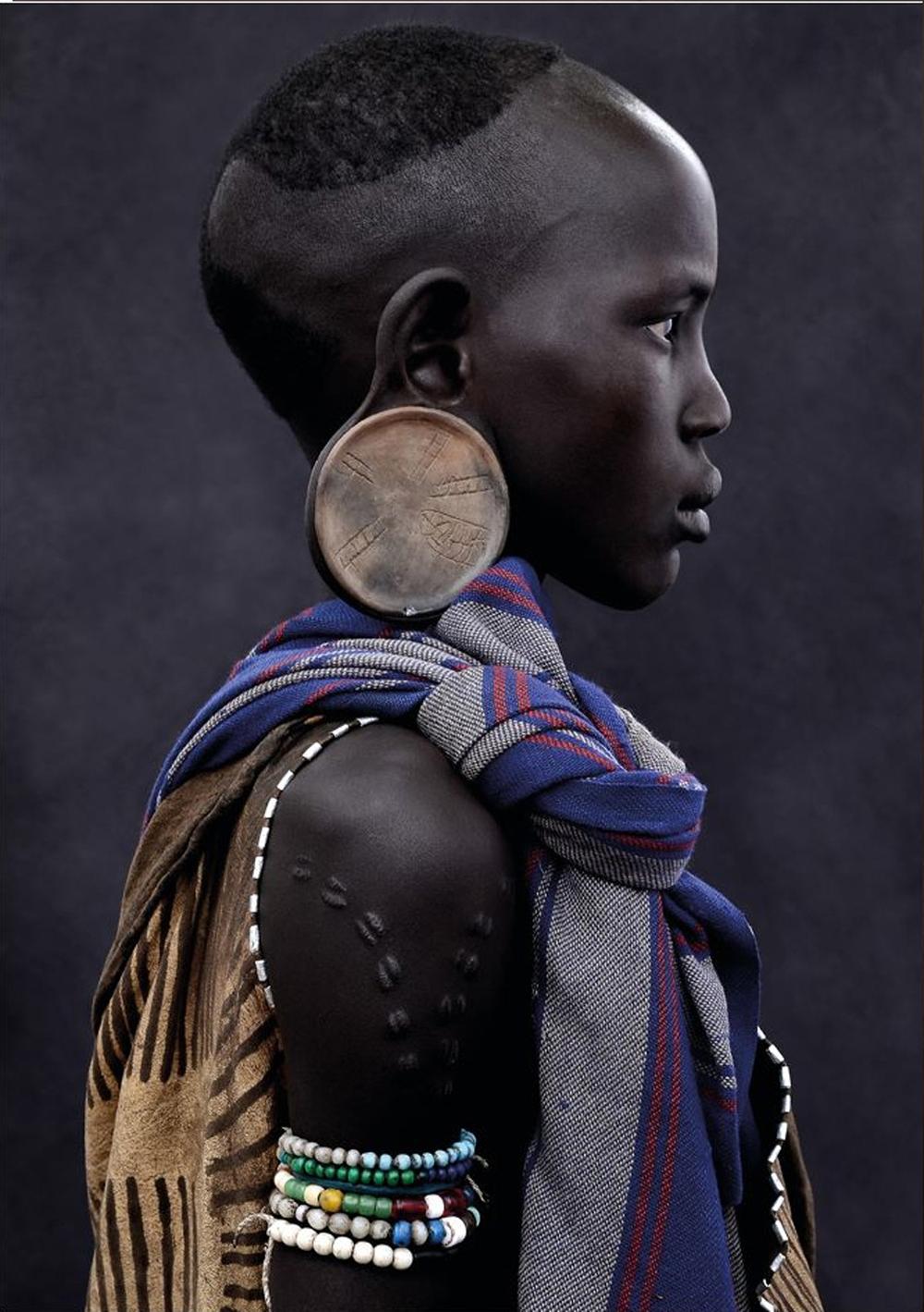 Mursi Girl, Ethiopia, 2011