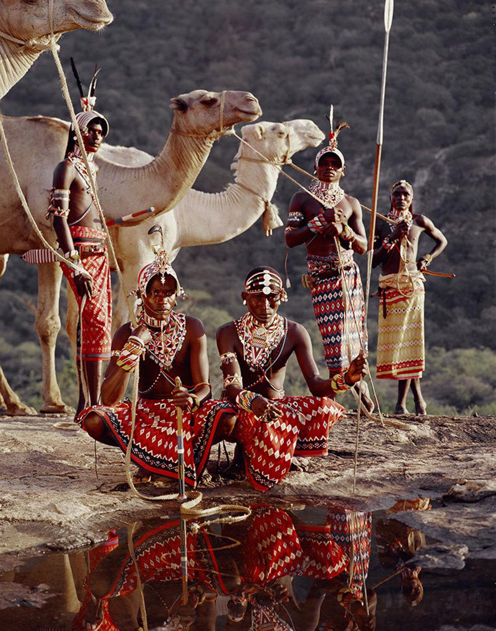 jimmy nelson // XV11, LELESAS, LOUELEN, LEWANGU, LEPOKODOU, LOINGU, NYERE NDOTO MOUNTAIN RANGE KENYA, 2010