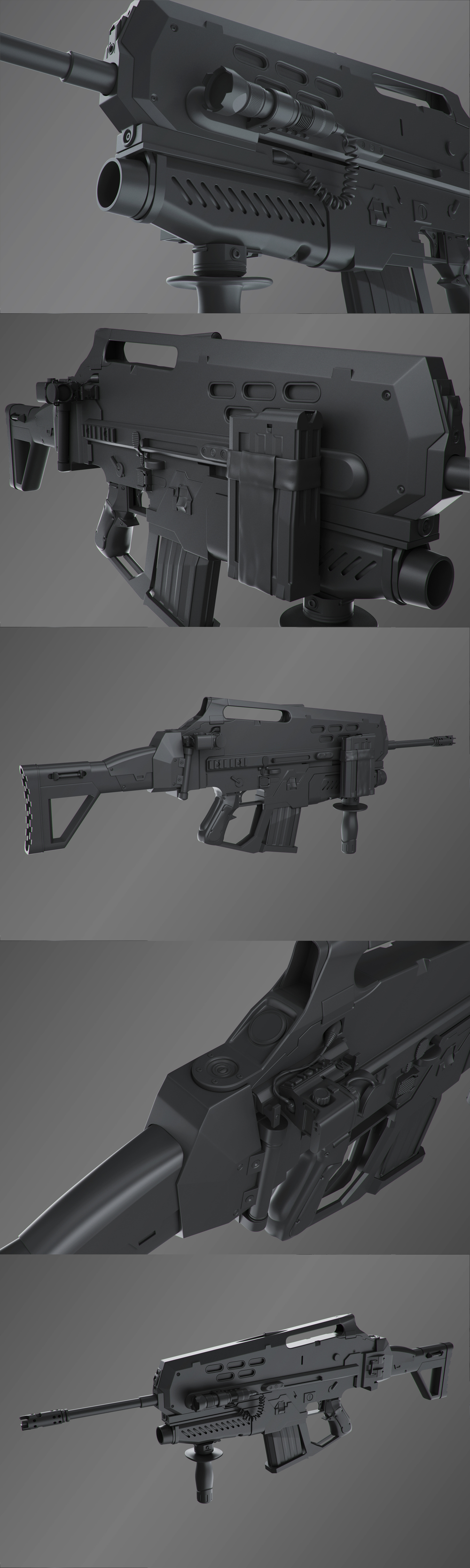 GWOZD Assault Rifle