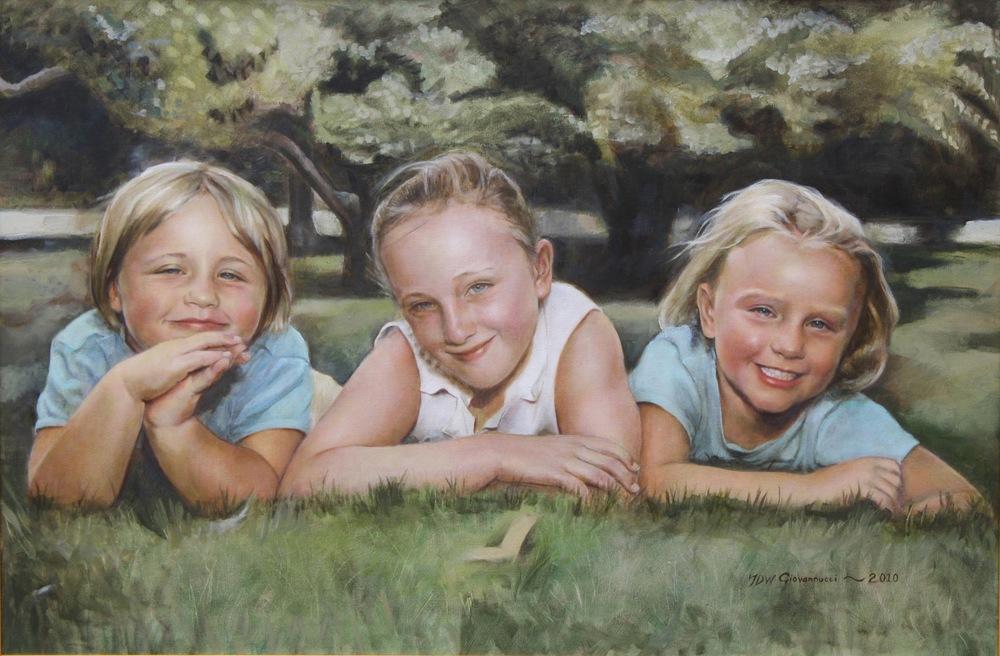 Jennifer.Giovannucci.Trio.24x36.Oil on canvas..jpg