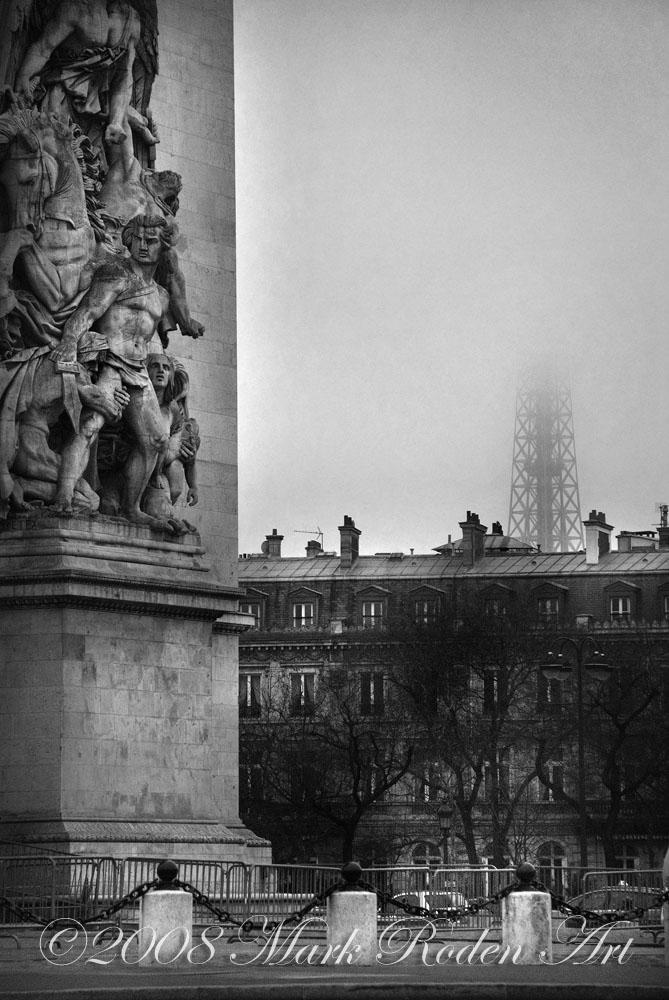 Foggy Morning in Paris