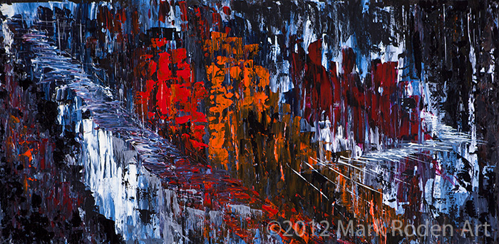 "Carlsbad Series - 18"" x 48"" Acrylic on Wood PanelOriginal Available for Sale800."