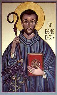 Icon of St. Benedict