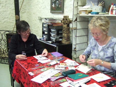 Next card making day is on the 18th March.  Contact Sr. Mary Bernard for further details...Places still available.