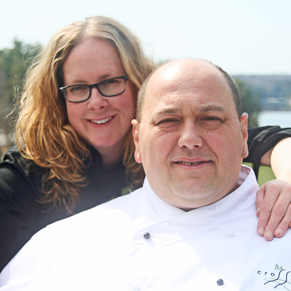 Owners and Chefs —  Julie and Richard Lalonde.
