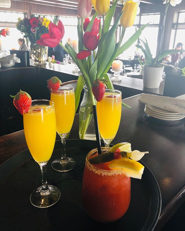 Mimosa's & Caesar's ...... enough said