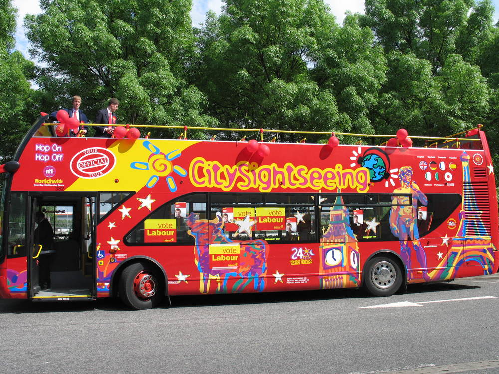 Stephen Timms Campaign Bus (2005)