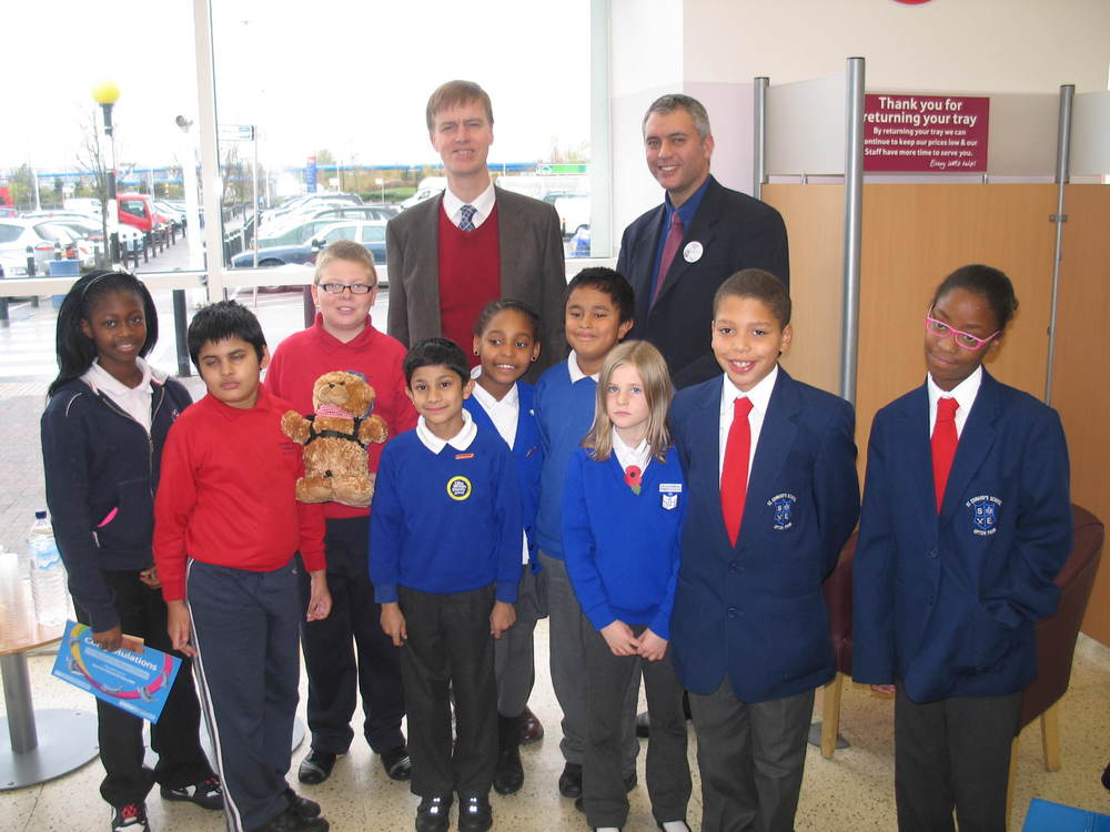 Stephen Timms at St Edwards School (2009)