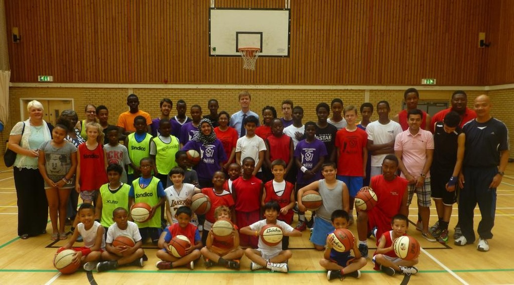 Summer School students at Newham All Star Sports Academy