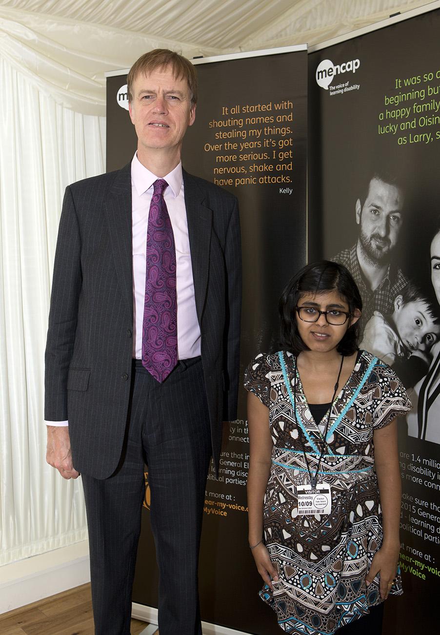 Stephen with Hinal Su