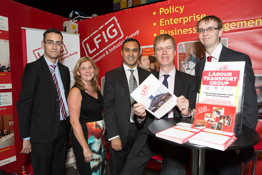 Stephen with the Labour Finance and Industry Group