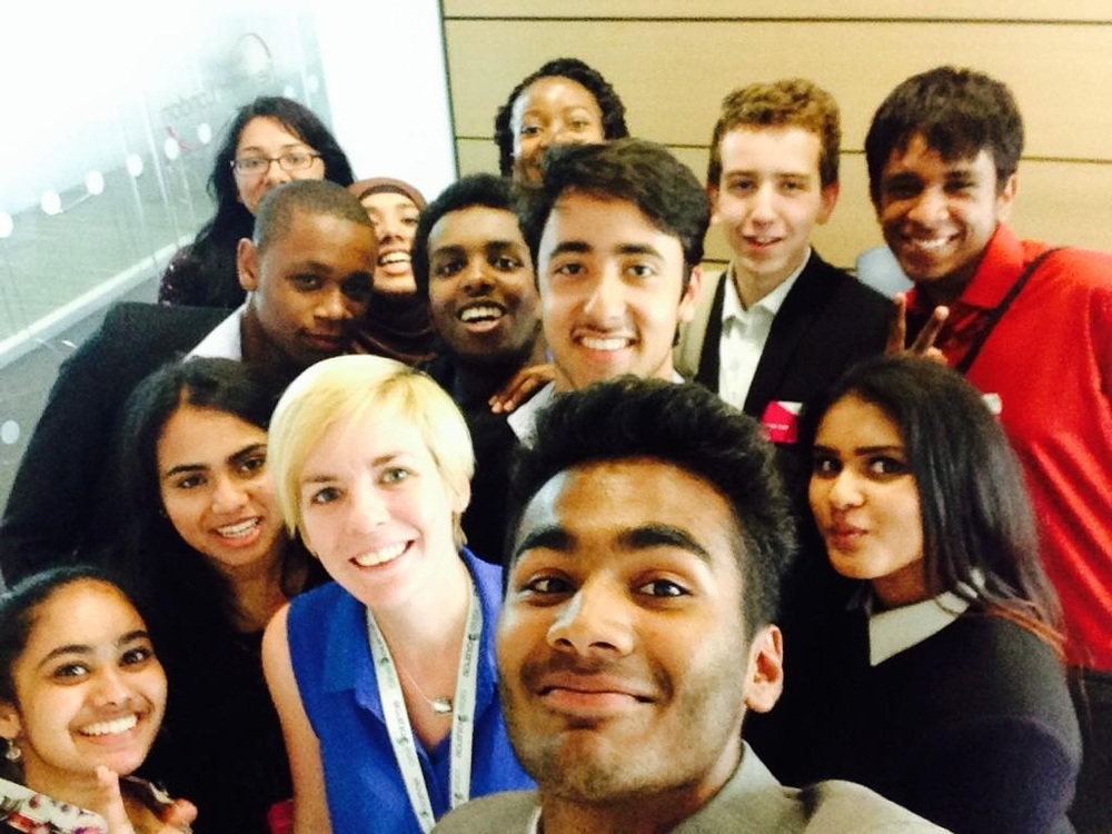 Politics Students with Cllr Ellie Robinson at Newham Council