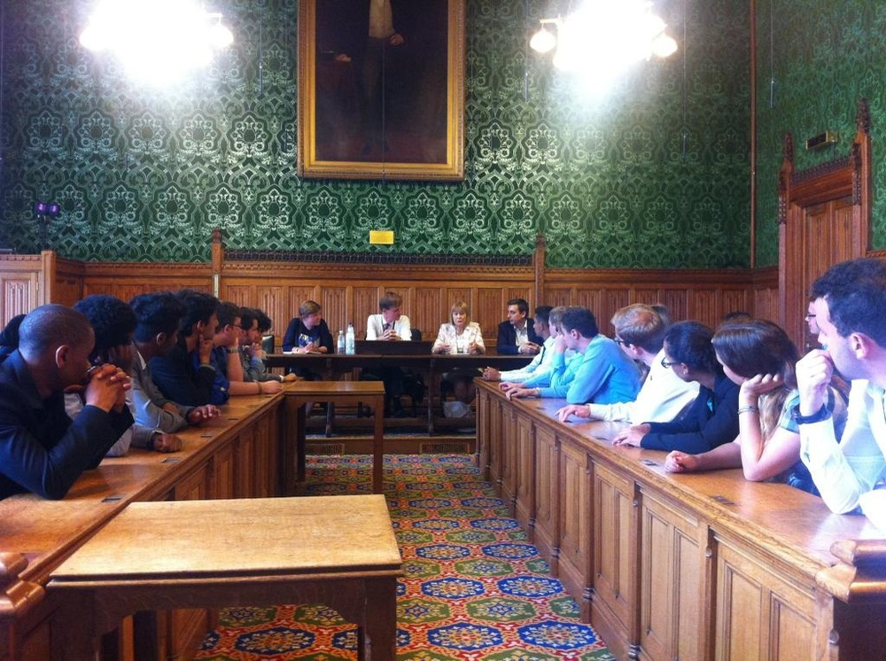 Students question MPs, an MEP and a parliamentary candidate