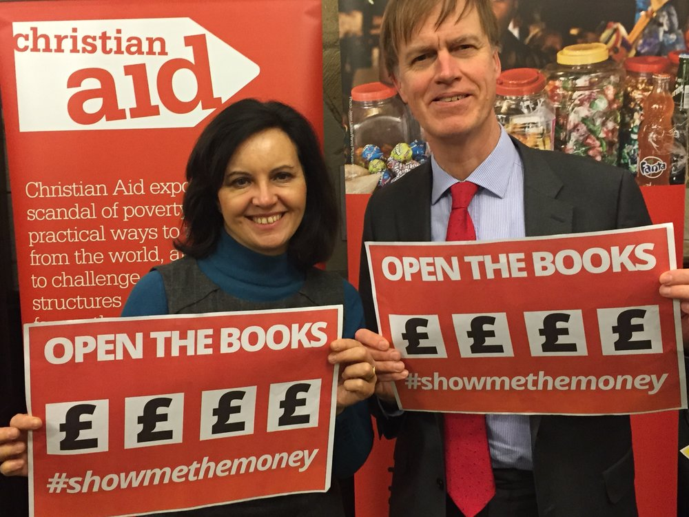 Stephen joins Caroline Flint in backing the campaign to ensure the largest companies pay their fair share of tax